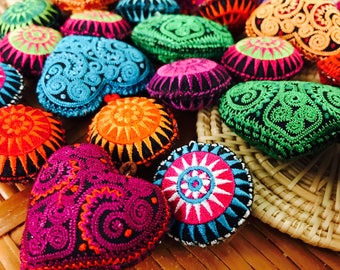 Mix 30 pcs of Hilltribe Handmade  for decoration and upgrade keychain