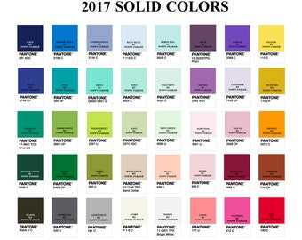 NOT FOR SALE: Solid Fabric Colors Available