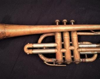 Besson Stratford vintage brass trumpet
