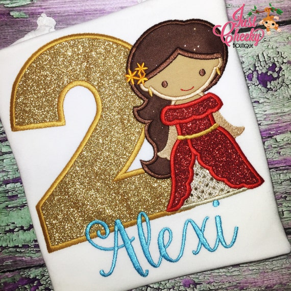 Princess Elena Cutie Shirt - Elena of Avalor -Disney Princess Birthday-Disney Vacation-1st Disney Trip-Amulet of Avalor-Elena Birthday Shirt