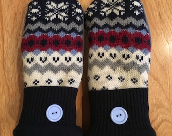Nordic style mittens