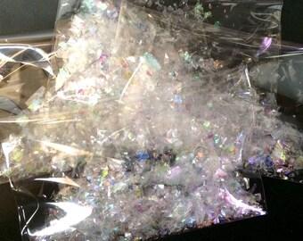 Glitter flakes, holographic flakes, mylar flakes, angelina flakes