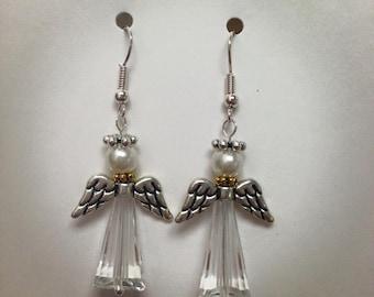 Earrings kit, angel