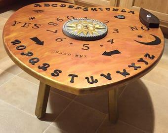 Ouija Board Table Etsy - Ouija coffee table