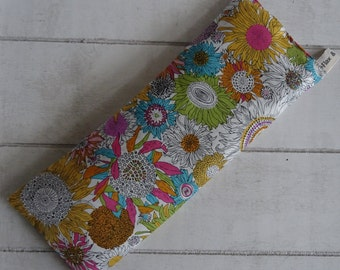 Liberty Eye Pillows - Sunflower Print Organic Lavender & Flax Seed