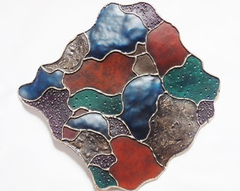 Metal Wall Art, Patchwork