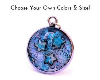 Star Jewelry Gift for Women 3 Tiny Stars Custom Jewellry Charm