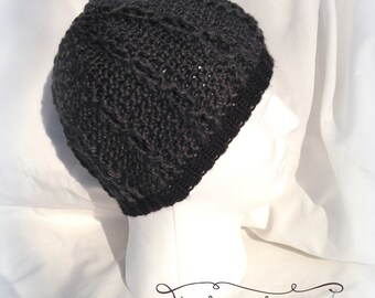 Crochet Child - Adult Cabled beanie hat - Custom made to order