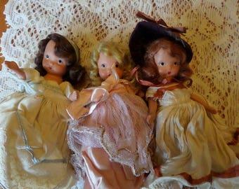 Nancy Ann Story Book Dolls, Storybook Dolls, Composition Doll, Vintage Dolls, Antique Dolls, Nancy Ann, Story Book Doll, Antique Doll