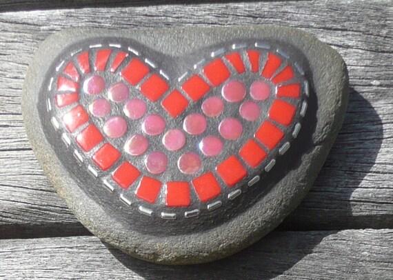 MOSAIC Love Heart Stones / Handwarmers / Token of Love
