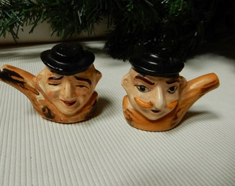 Toby Salt and Pepper Shakers