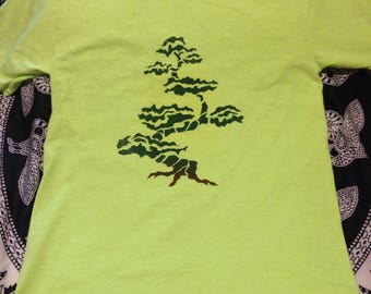 Bonzai tree t-shirt