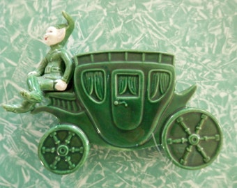Treasure Craft California Potteries Sprite on Stagecoach ******** FREE Shipping