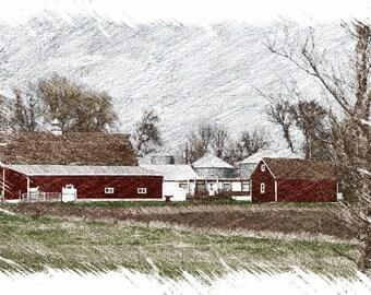 Family Farm,  Charleston, Utah