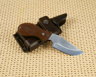 EDC Fixed Blade Full Tang 1095 High Carbon Steel Knife