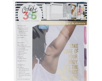 The Happy Planner - Create 365 - Me and My Big Ideas - Fitness Extension Pack