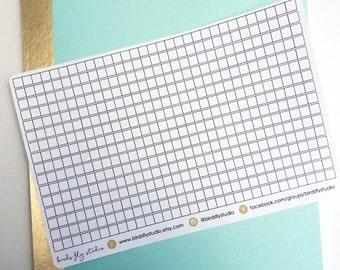 Bujo Habit Tracker Stickers   Bullet Journal Stickers / Habit Trackers, Monthly Habit Trackers, Checklist Strips