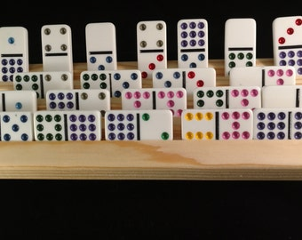 4 Domino/Rumikub/scrabble racks
