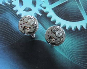 "Jewelry steampunk man. Buttons headlines."" Mechanisms"""