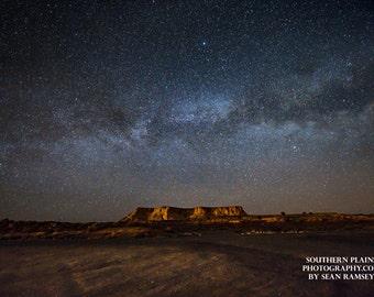 Night Sky Photography, Milky Way Print, Arizona Sky, Starry Picture, Space Wall Art, Galaxy Night Sky, Photo of Stars, Wall Art Galaxy