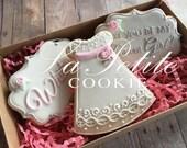 Flower Girl cookie gift set