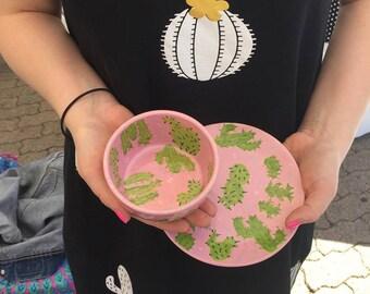 Cactus Small Bowl