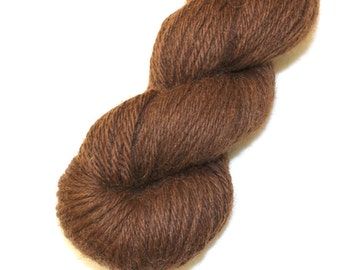 SALE 25% OFF Illimani Rich Chocolate Brown Llama I Worsted Weight Yarn, 100 gram 220 yards, 200m for Crocheting or Knitting