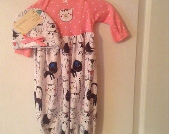 Baby sleep gown