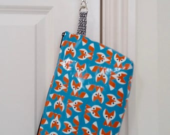 Baby Foxes Nappy Clutch Bag