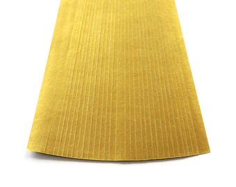 folding paper for lucky stars metallic gold - 30 paper strips for origami stars - origami paper