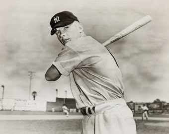 Mickey Mantle, Baseball Photo