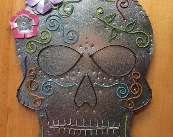 Sugar Skull Wall Hanging