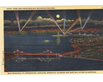 San Francisco California Vintage Postcard (unused)
