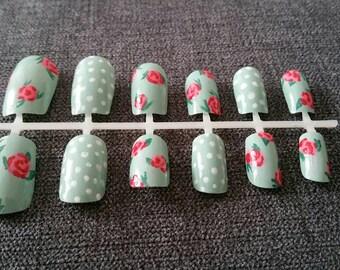 English garden nails