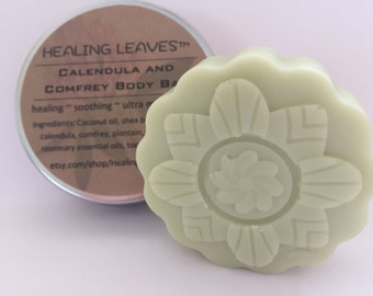 Calendula and Comfrey Lotion Bar