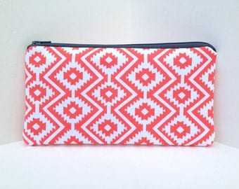 iPhone Pouch iPod Case Padded Smartphone Pouch Zipper Purse