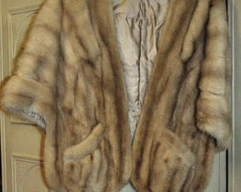 Vintage Mink Stole, by Paul Jolnick of London