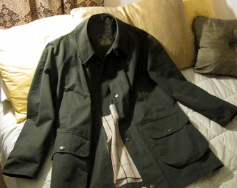 Superb Grenfell Ventile Cloth Field Jacket Made in England