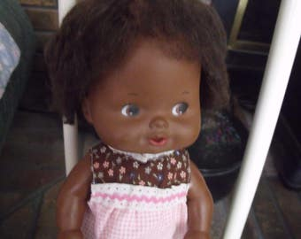 lovely african American doll..1975 by matel inc.