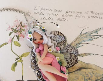 polymer clay fairy doll