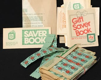 Vintage S&H Green Stamps And Books