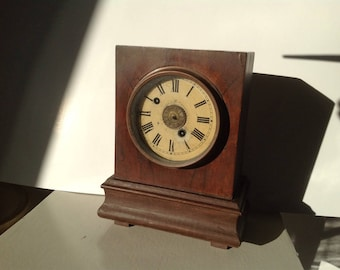 Morath Brothers watch and clock manufacturers   antique  mantle clock