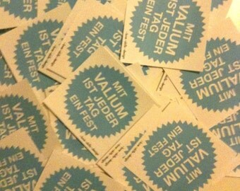 Valium - sticker package 20 PCs