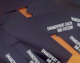 Emancipated you - sticker package 20 PCs