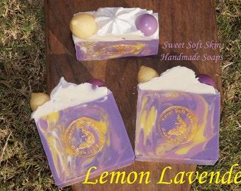 Lemon Lavender Soap Bars