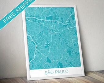 São Paulo Art Print