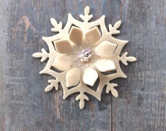 Snowflake snowflake Christmas decoration Christmas 13 cm