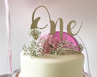 1st birthday cake topper, One cake topper, 1st birthday decorations, cake topper, 1st birthday, 1st birthday party, Birthday cake topper