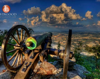 Chattanooga Landscape Photography - Point Park on Lookout Mountain in Chattanooga Tennessee.