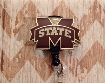 MSU retractable badge reel
